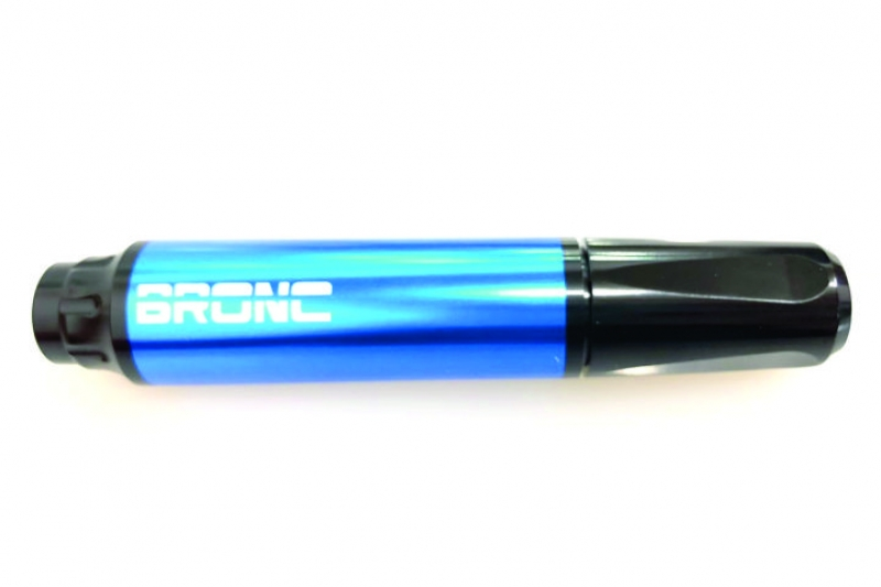 MAQUINA MINI BRONC PEN BLUE