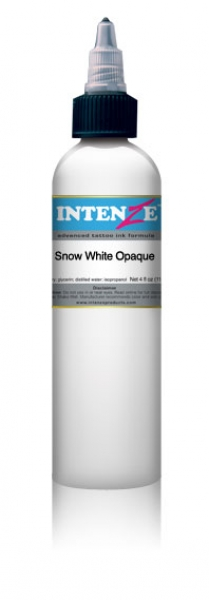 INTENZE SNOW WHITE (2OZ) OPAQUE